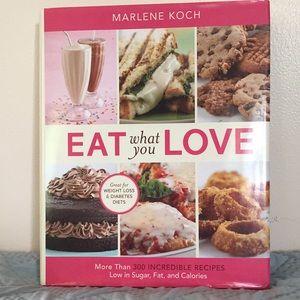Eat what you Love Hardback Book